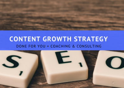 SEO Content Growth Strategy - How to grow your Organic Search