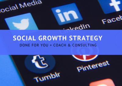 Social Growth Strategy - How to grow your social following